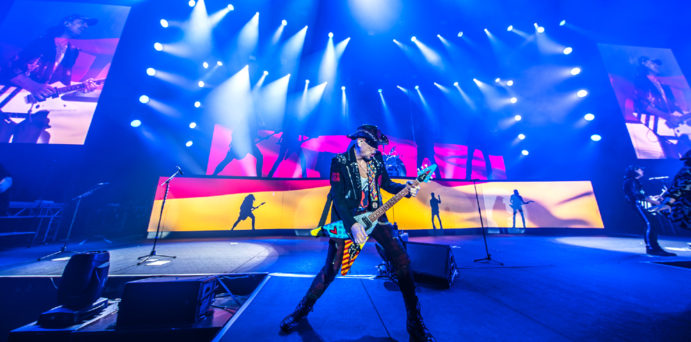 The Scorpions world tour
