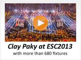 Clay Paky at ESC2013