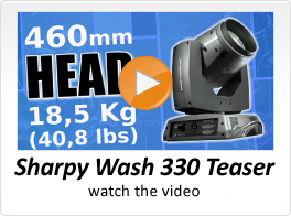 Sharpy Wash 330 Teaser