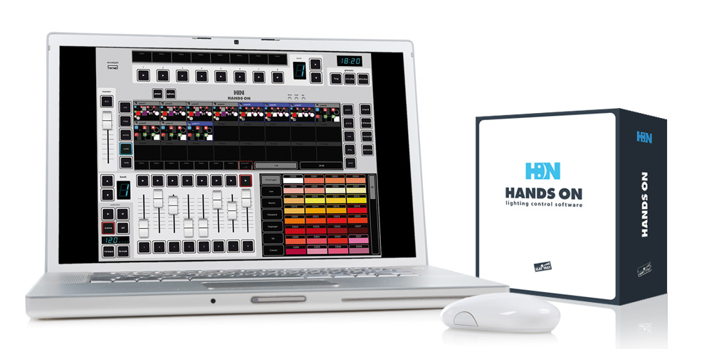 HANDS ON: the new Lighting Control Software