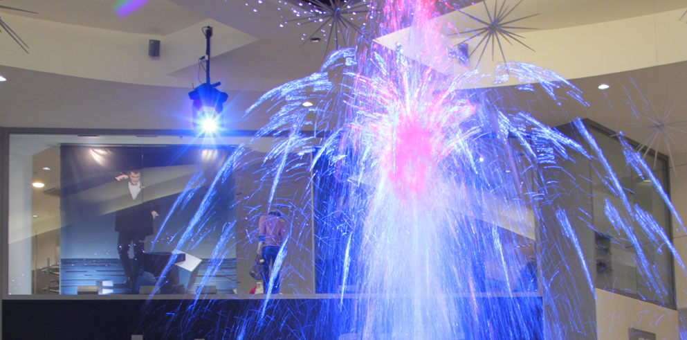 Clay Paky illuminates the Metropole Zličín Centre fountain