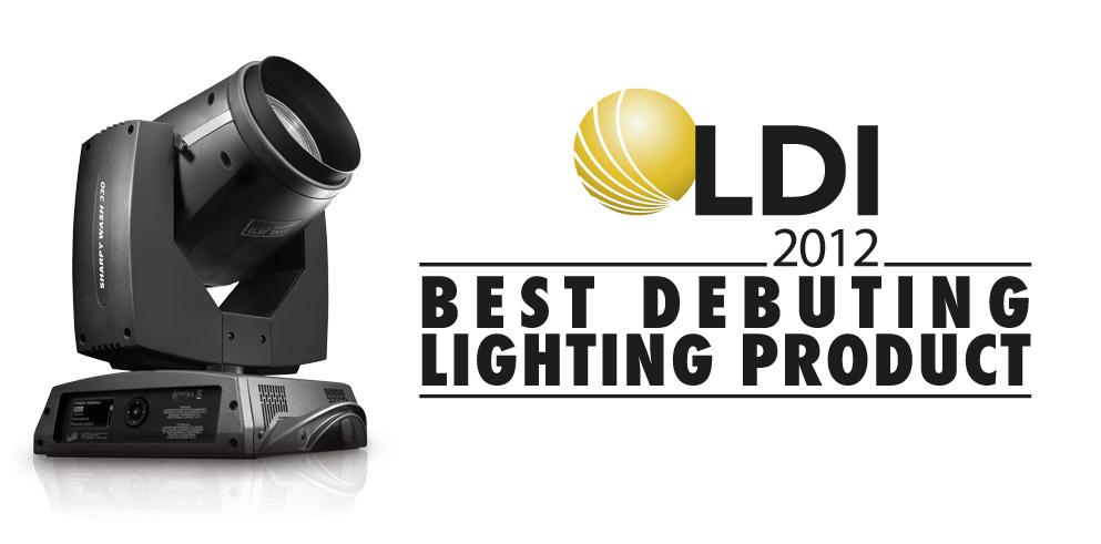 Ocenenie LDI 2012 preCP SHARPY WASH 330