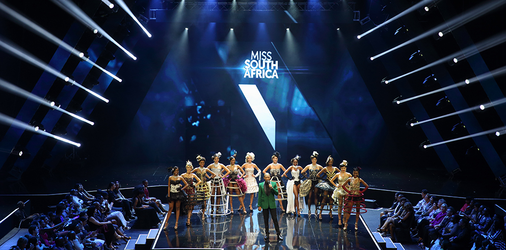 "Clay Paky adds ""even more sparkle"" to Miss South Africa 2016"