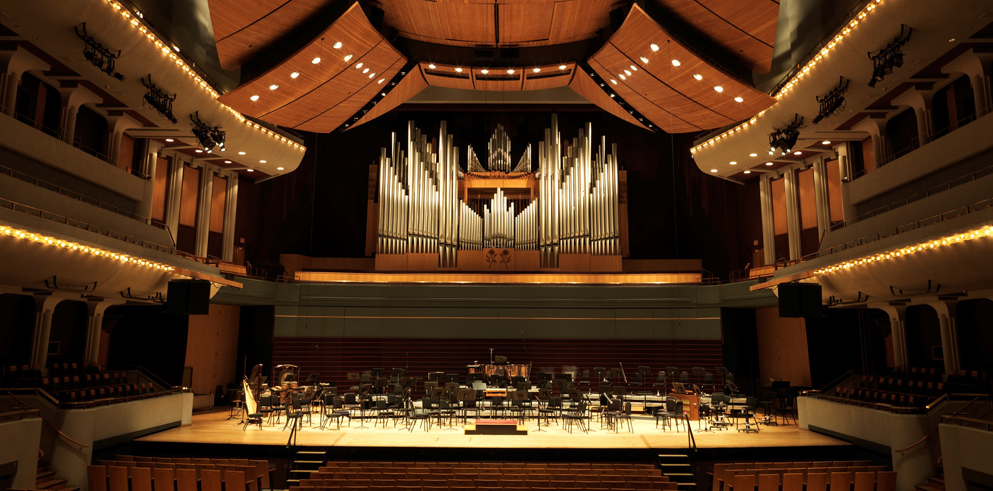 Clay Paky B-EYE K10s Make Their Debut at the Jack Singer Concert Hall in Calgary's EPCOR CENTRE