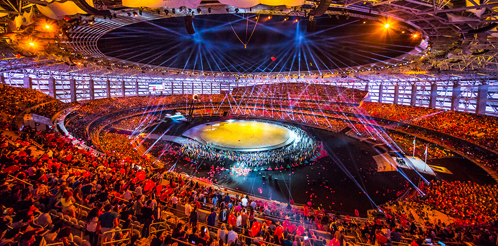 Clay Paky Dazzles at the 1st European Games in Baku