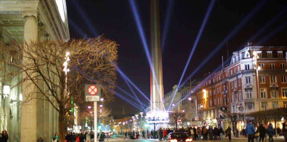 Clay Paky delivers 'revolutionary' lighting for Ireland's International Year of Light launch