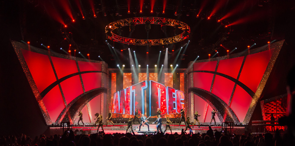 Clay Paky helps bring Ant and Dec from screen to stage