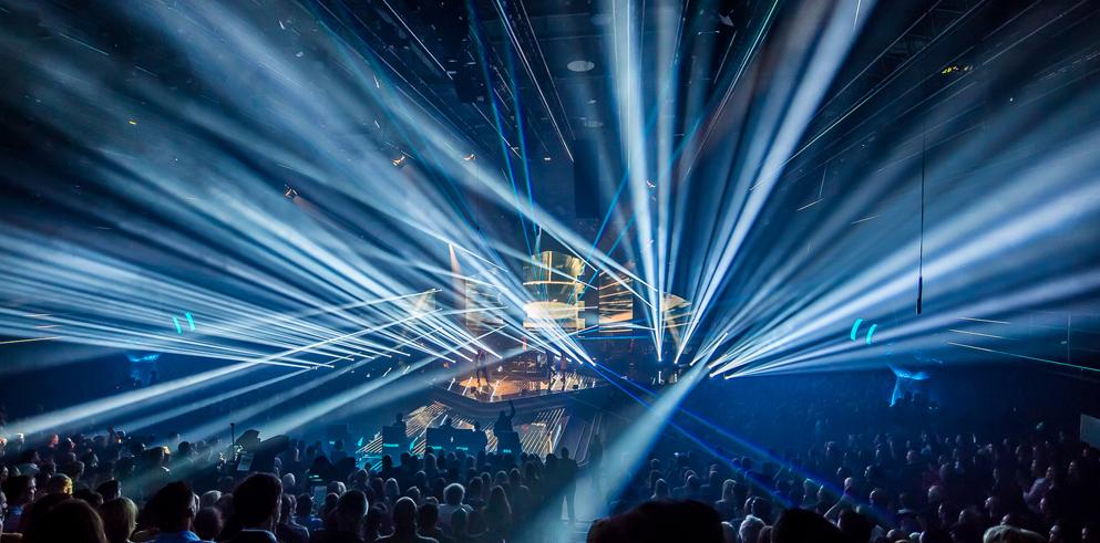 Dj Disco Lighting Rig Flashing Lights Stock Illustration 40555351 ...