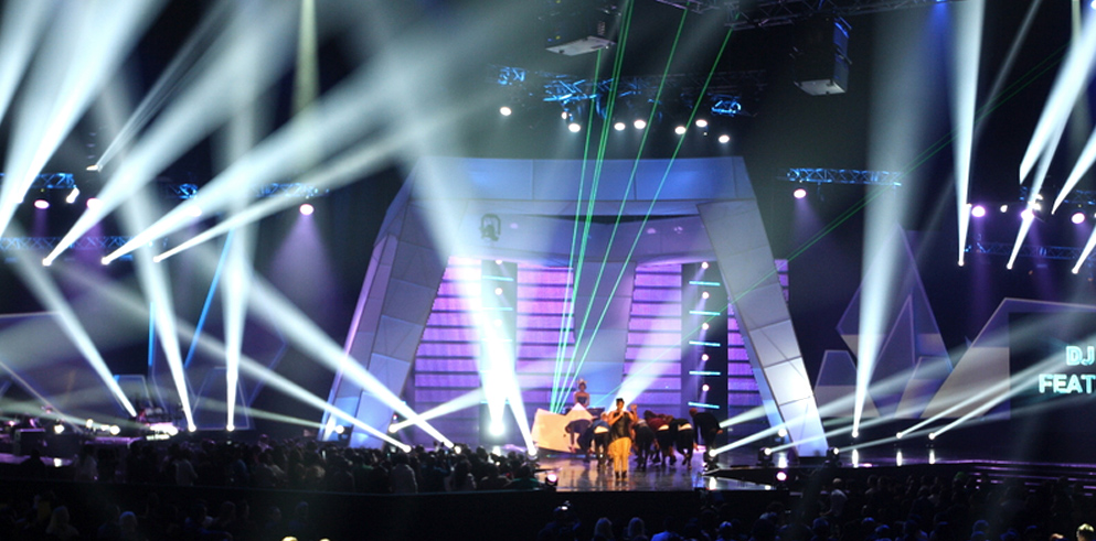 Clay Paky - Clay Paky lights the South African Music Awards