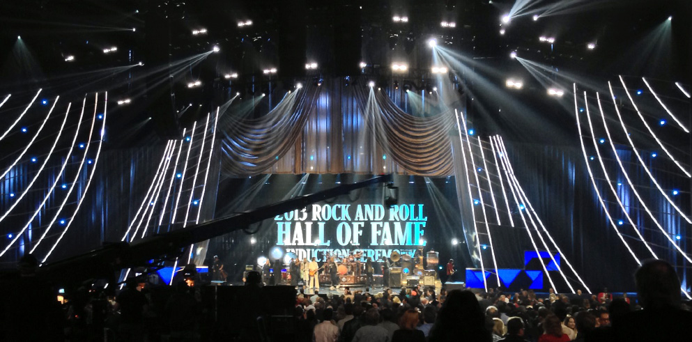 Clay Paky Rocks for Rock and Roll Hall of Fame Induction Ceremony in LA