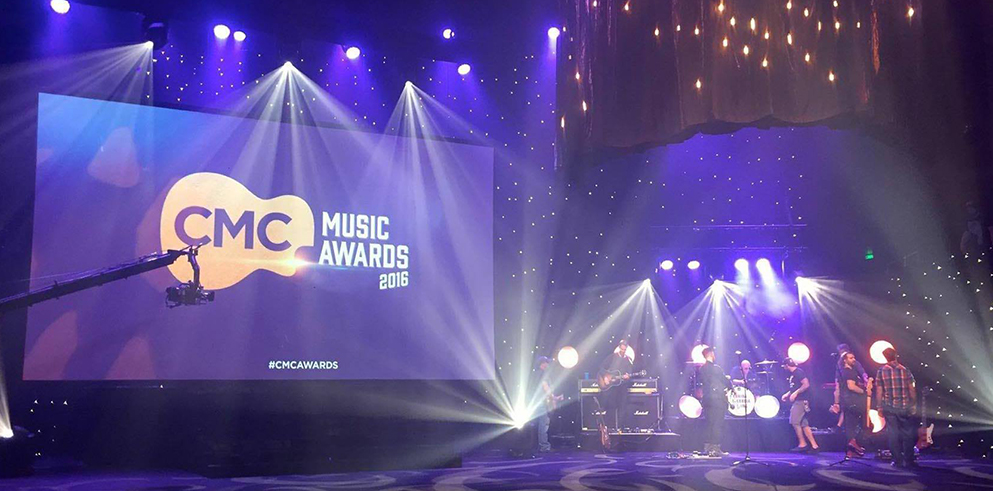 Clay Paky Scenius makes its Australian debut at the CMC Music Awards