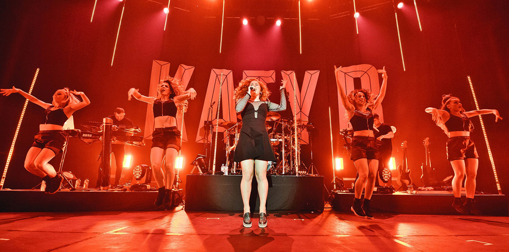 Clay Paky strobes up a storm on Katy B