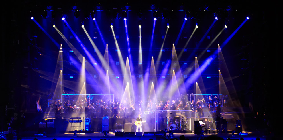 Http Www Claypaky It En News Clay Paky With Ligabue And Jo Campana S Spectacular Lighting Design