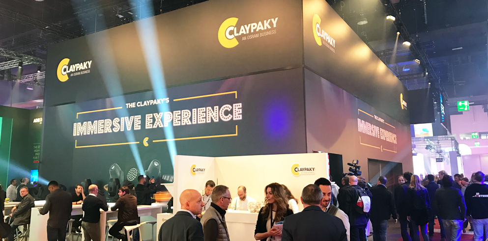 Claypaky at Prolight+Sound 2017