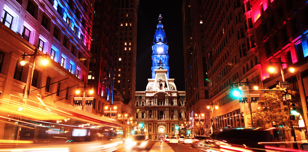 Claypaky Mythos with Starlite Productions to showcase Philadelphia Monuments