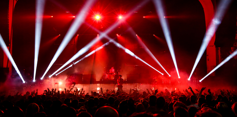 Claypaky provides atmospheric lighting effects for Nothing but Thieves