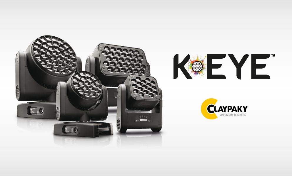 Claypaky's K-EYE HCR marks a new era for LED stage lighting
