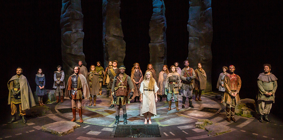 "Claypaky Scenius Spots Illuminate Shakespeare's Dark Side for Student-Produced ""Macbeth"" at Webster University"