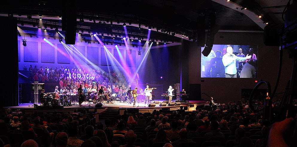 Morris Integration Selects Clay Paky Fixtures for Technical Renovation at Community Bible Church