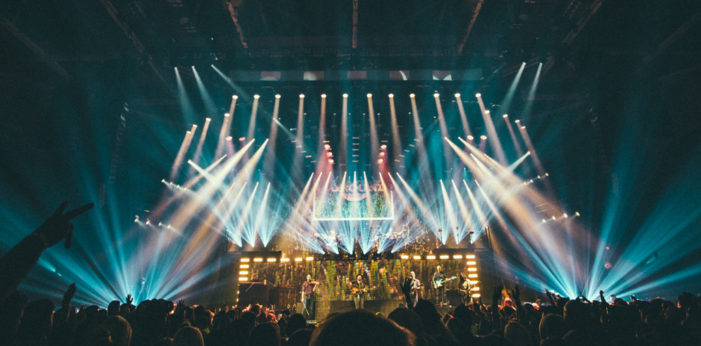 Okulus and SES Equip Zac Brown Band Tour with  Clay Paky Fixtures