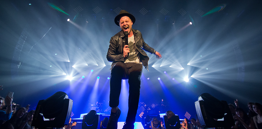 Clay Paky Onerepublic Wraps Its Native World Tour With