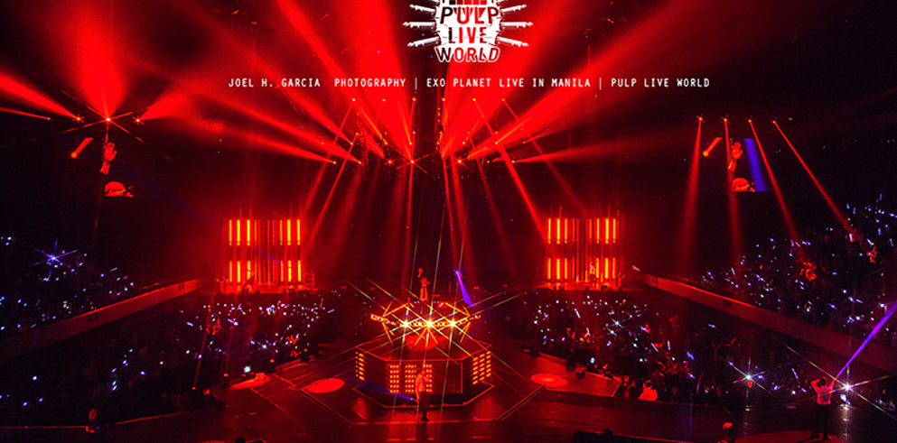 Over 200 Clay Paky fixtures light up EXO in Manila