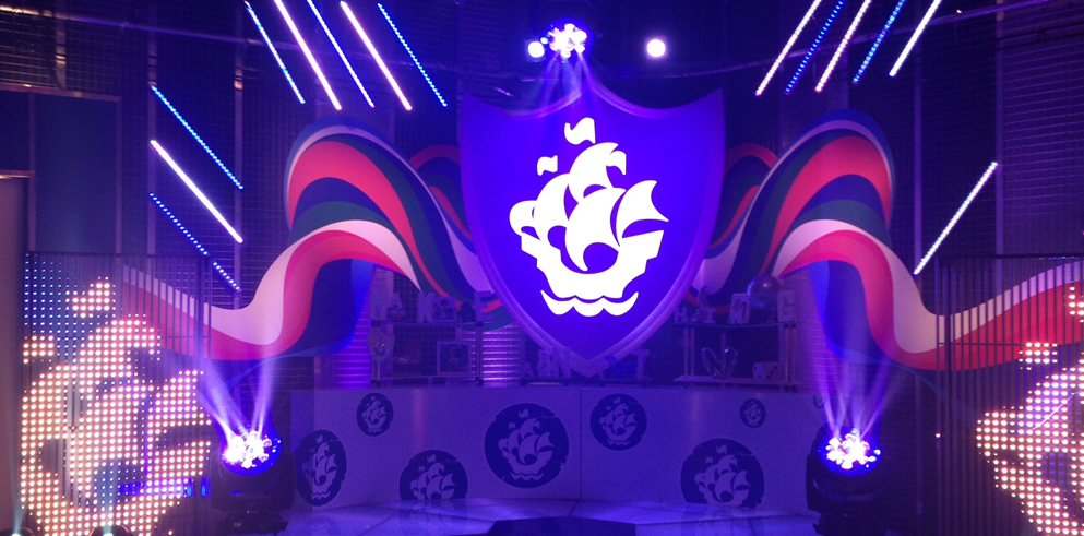 RML illuminates Blue Peter with the Clay Paky B-EYEs