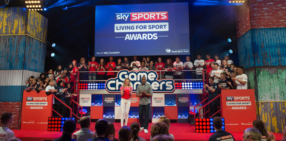 RML supply Clay Paky B-EYEs for the Sky Sports Awards