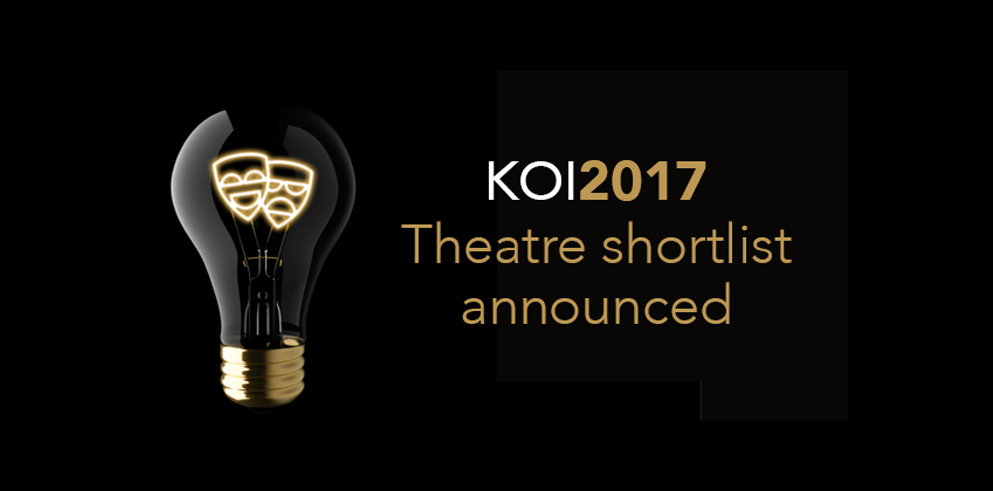Theatre Shortlist Announced for the Tenth Knight of Illumination Awards
