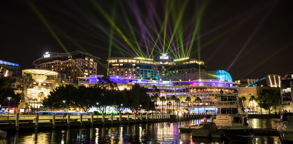 Vivid Festival in Sydney with Clay Paky lights