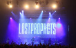 Gli Sharpy Clay Paky con Lostprophets