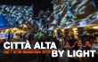 """Città Alta by Light"" - Clay Paky conveys nature through the magic of light"