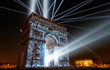 Clay Paky Supersharpy dazzles at Paris New Year's Eve celebrations