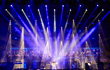 Clay Paky with Ligabue, and Jò Campana's spectacular lighting design