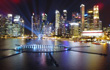 Claypaky Mythos powers trailblazing New Year's Eve light show in Singapore