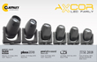 Claypaky presents new Axcor units and other exciting new products on 4 continents