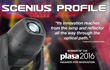 Scenius Profile wins the Plasa Awards: Clay Paky is yet again an emblem of innovation at Plasa 2016