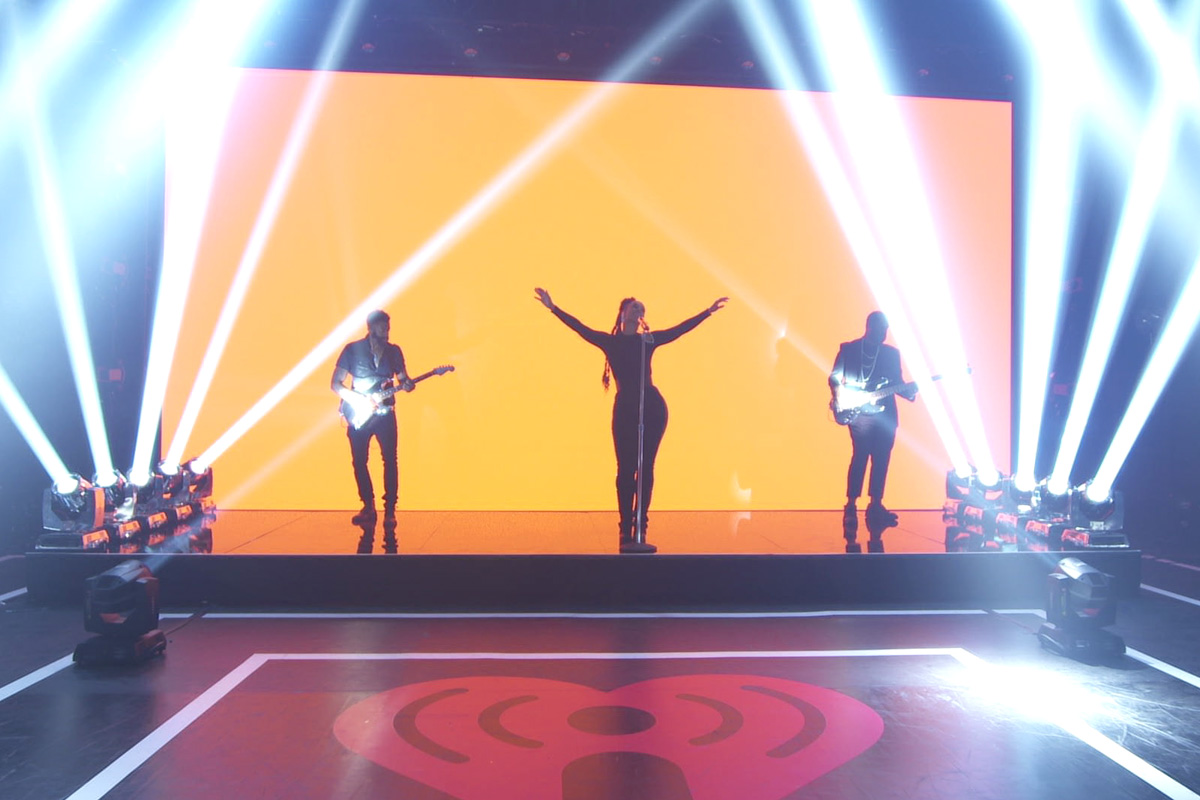 2020 iHeartRadio Music Festival Goes Virtual with Claypaky Fixtures Lighting Up LA-based Artists