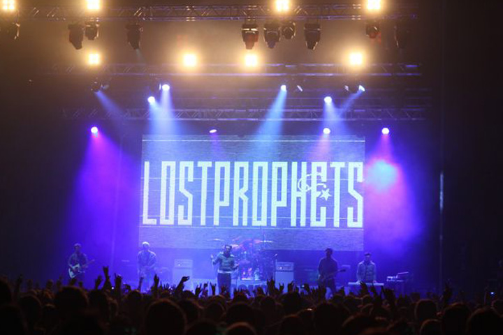 Clay Paky Sharpys are the choice for Lostprophets homecoming