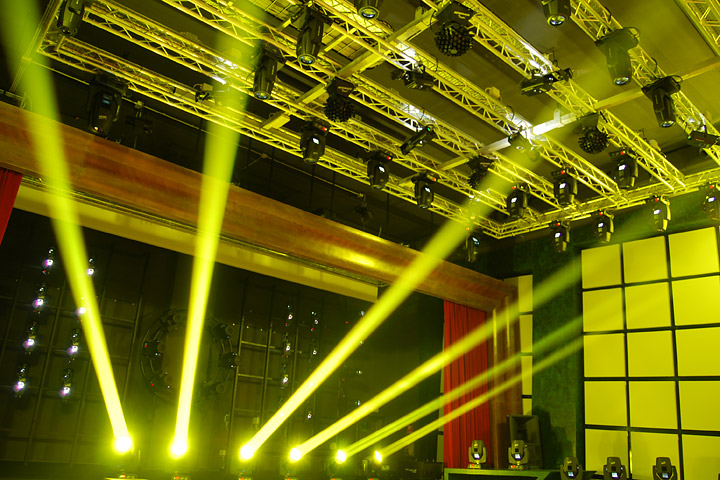 Alpha Beam 300, a moving light beam concept, a milestone in live entertainment
