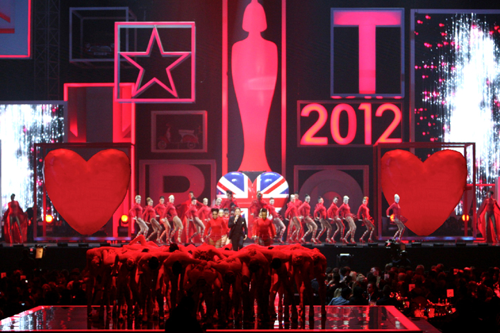 Sharpy Rocks the UK from the 2012 Brit Awards