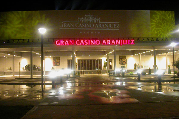 Clay Paky at the Gran Casino Aranjuez