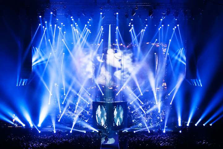 Clay Paky Alpha Beam 700s Create Varied Look for Within Temptation's Tour