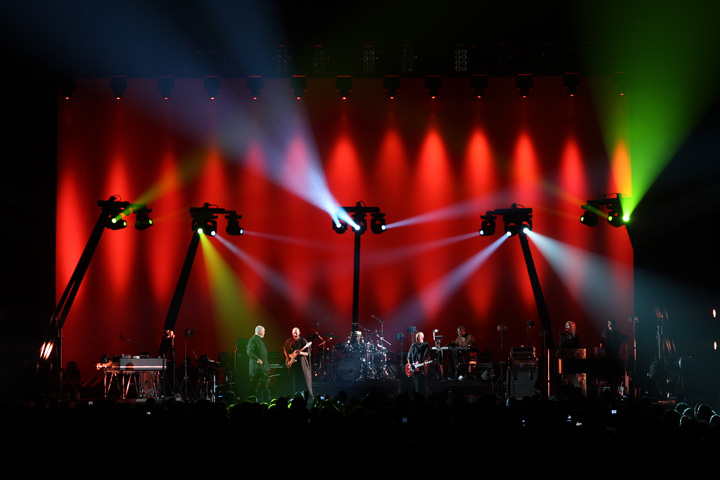 Clay Paky Alpha Spot QWO 800 Fixtures Join Peter Gabriel's Nostalgic Back to Front Tour