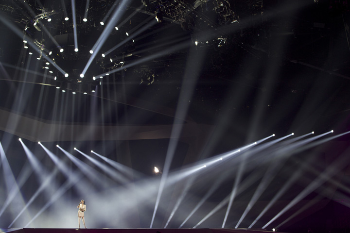 Clay Paky Dominates at Eurovision Song Contest 2012 - Photo credit: M&M Production Mgmt