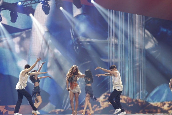 Clay Paky Dominates at Eurovision Song Contest 2012