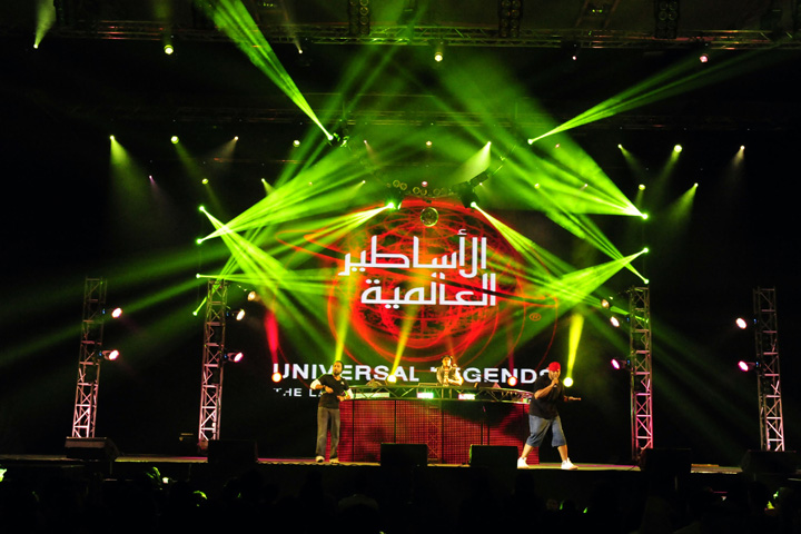 Clay Paky luminaires are the brightest choice for Bahrain Summer Festival