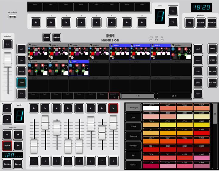 Clay Paky Hands On Il Nuovo Software Di Controllo Luci