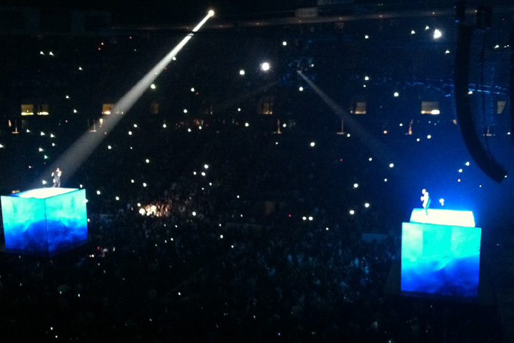 Sharpy fixtures join Jay-Z and Kanye West - Photo credit: millertimemusicspot.blogspot.com