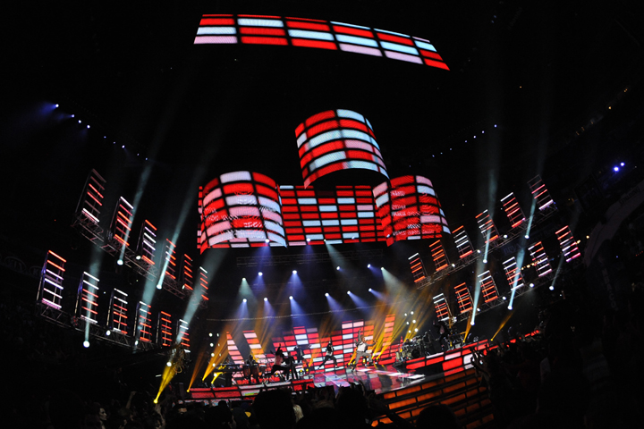 Sharpys Help Give Dynamic Look to NBA All-Star Game Halftime Show